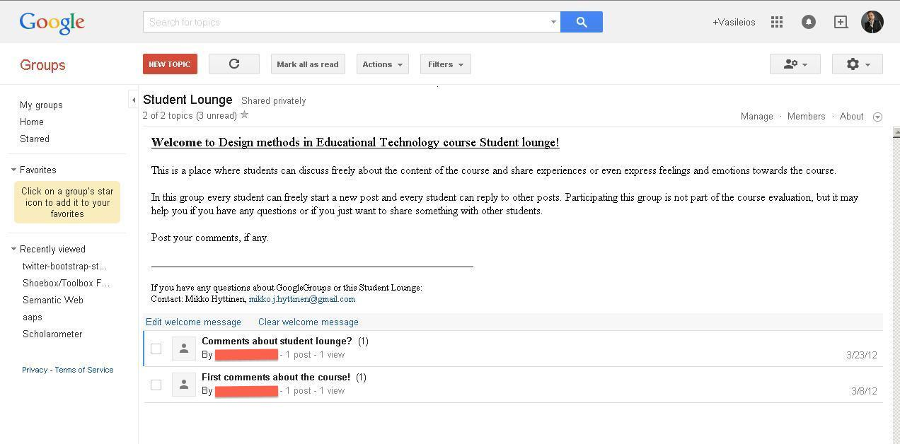 Use Google educational apps to foster online collaborations