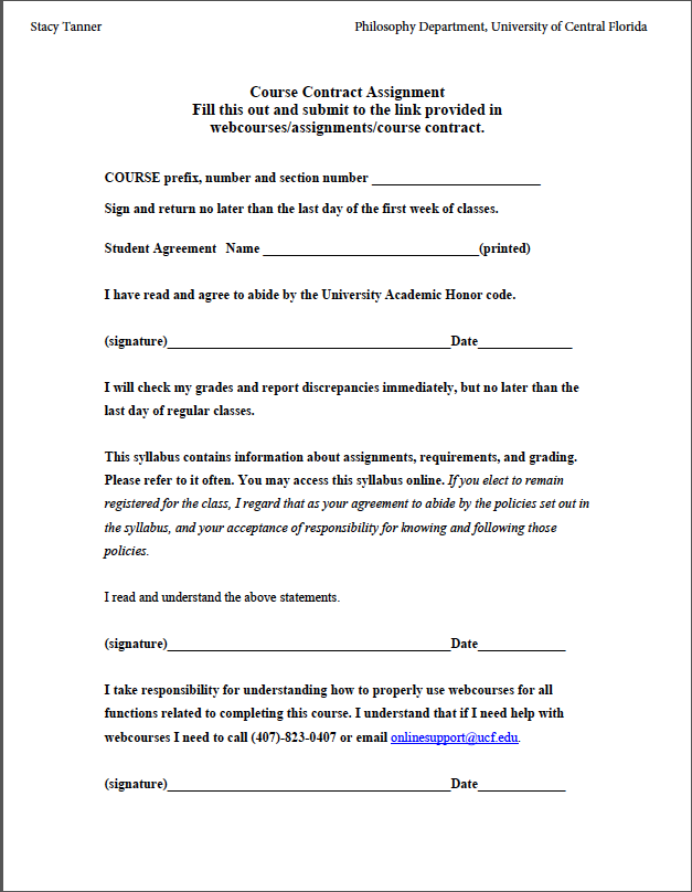Create Contracts To Improve Communication And Reduce Anxiety - Online contract example